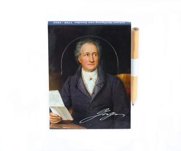 Notizblock Goethe
