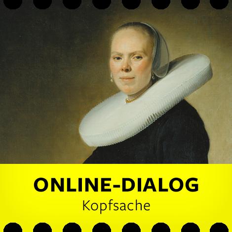 Online-Dialog Kopfsache