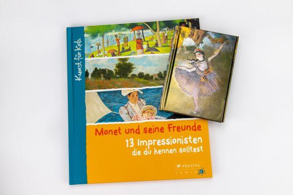 """Geschenkset """"Monet und seine Freunde"""""""