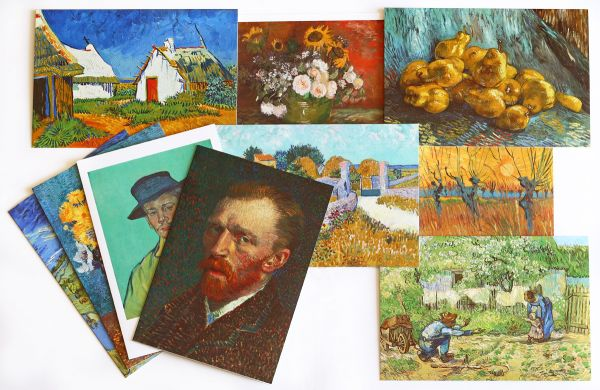Doppelkarten Set van Gogh