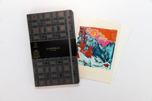 Geschenkset Notizbuch Castelli