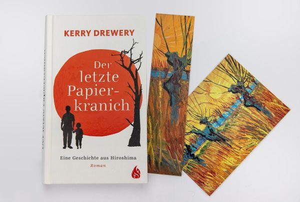 """Geschenkset """"Der letzte Papierkranich"""""""