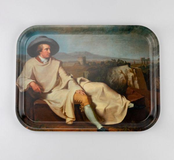 Tablett Goethe